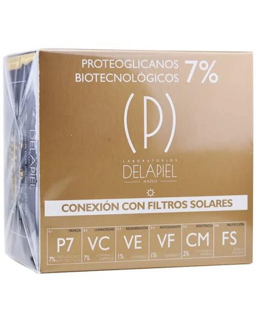 Delapiel Conexión Filtros Solares 15 Ampollas
