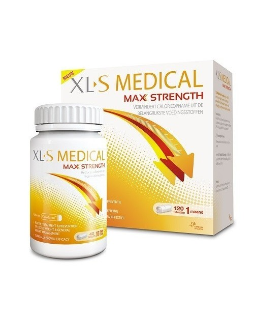 XLS Medical Max Strength 120 Comprimidos