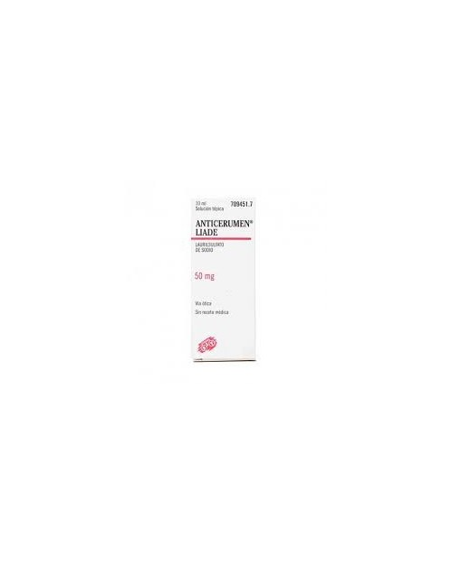 ANTICERUMEN LIADE (50 MG/ML GOTAS OTICAS SOLUCION 10 ML )